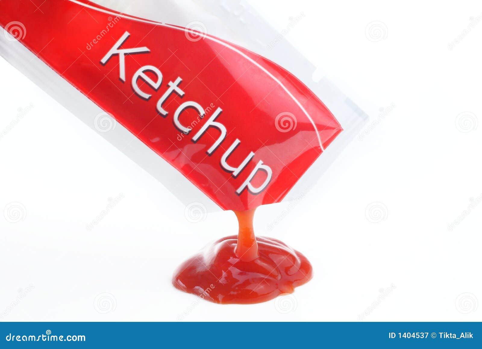 Ketchup Packet Royalty Free Stock Photography - Image: 1404537