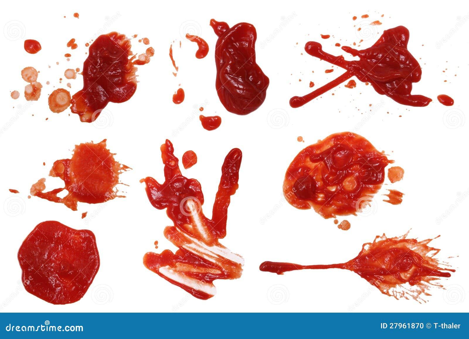 ketchup stain 5 stock photo image of serving splashes 27961870. Black Bedroom Furniture Sets. Home Design Ideas