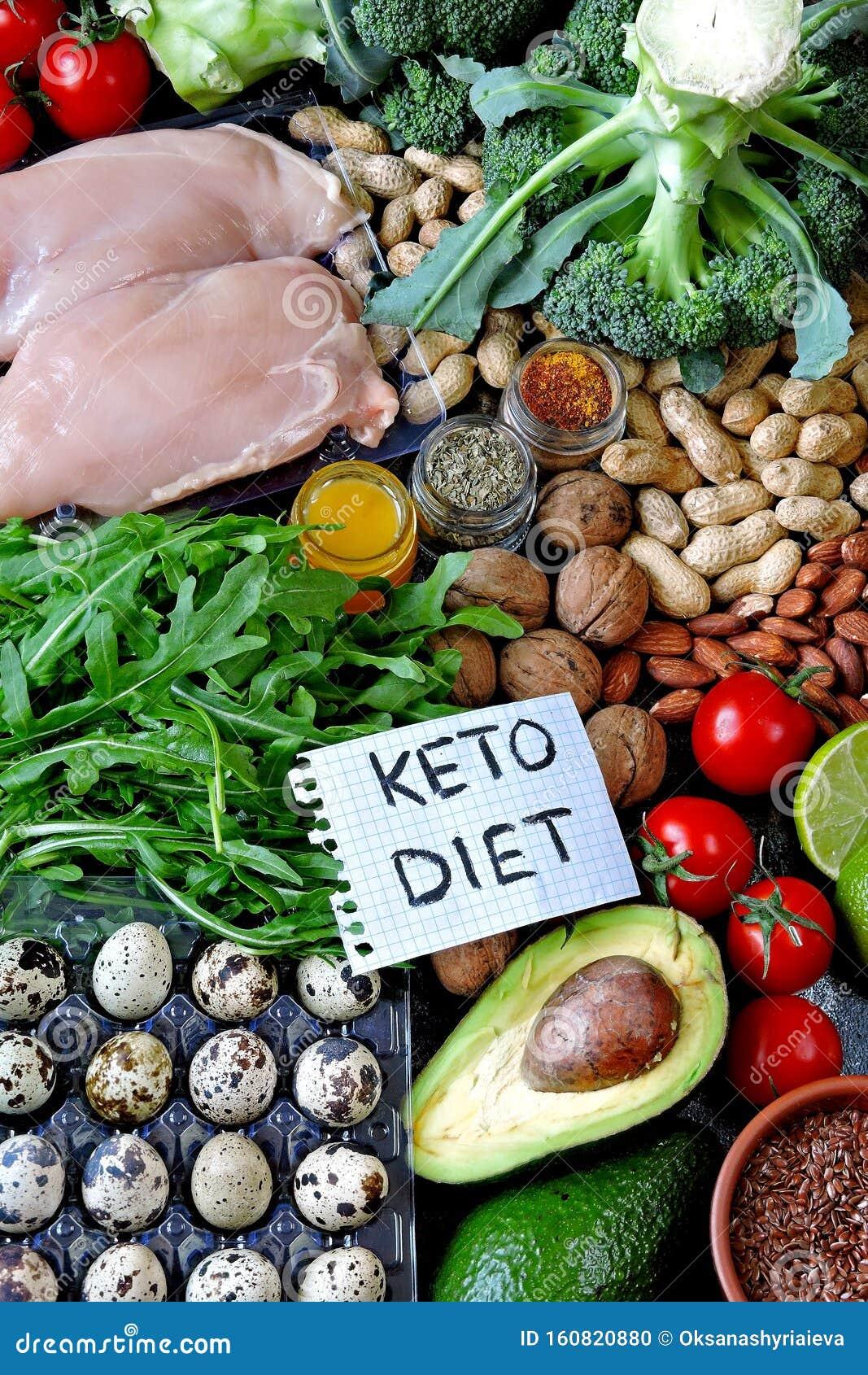 ketogenic diet green fresh