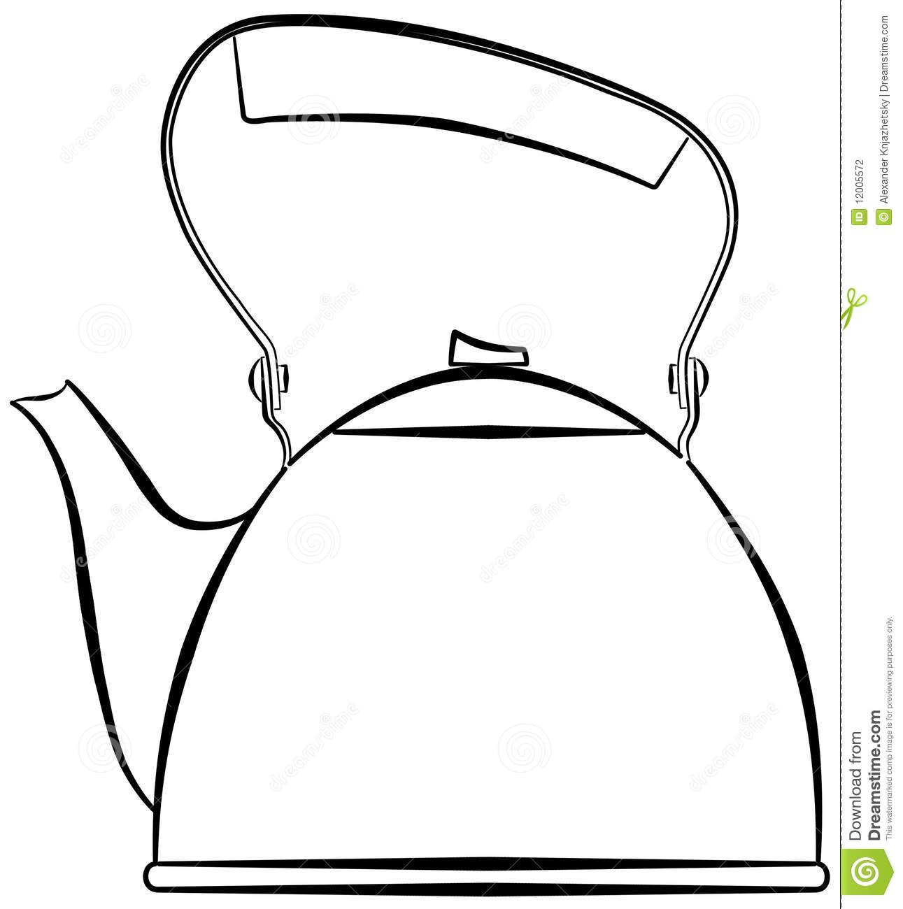 kettle stock illustration  illustration of teapot
