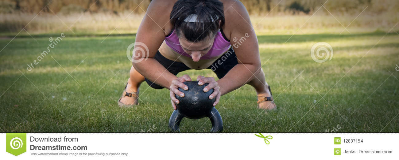 kettle bell push-up