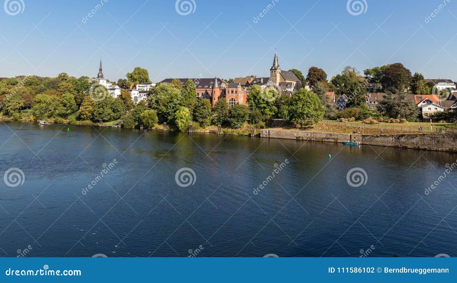 Kettwig, Essen, Ruhr teren, Północny Westphalia, Niemcy