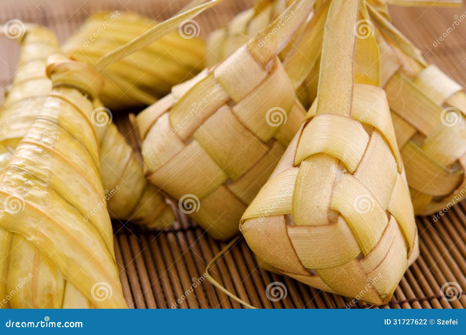 Ketupat Malay Food Stock Photography Image 31727622
