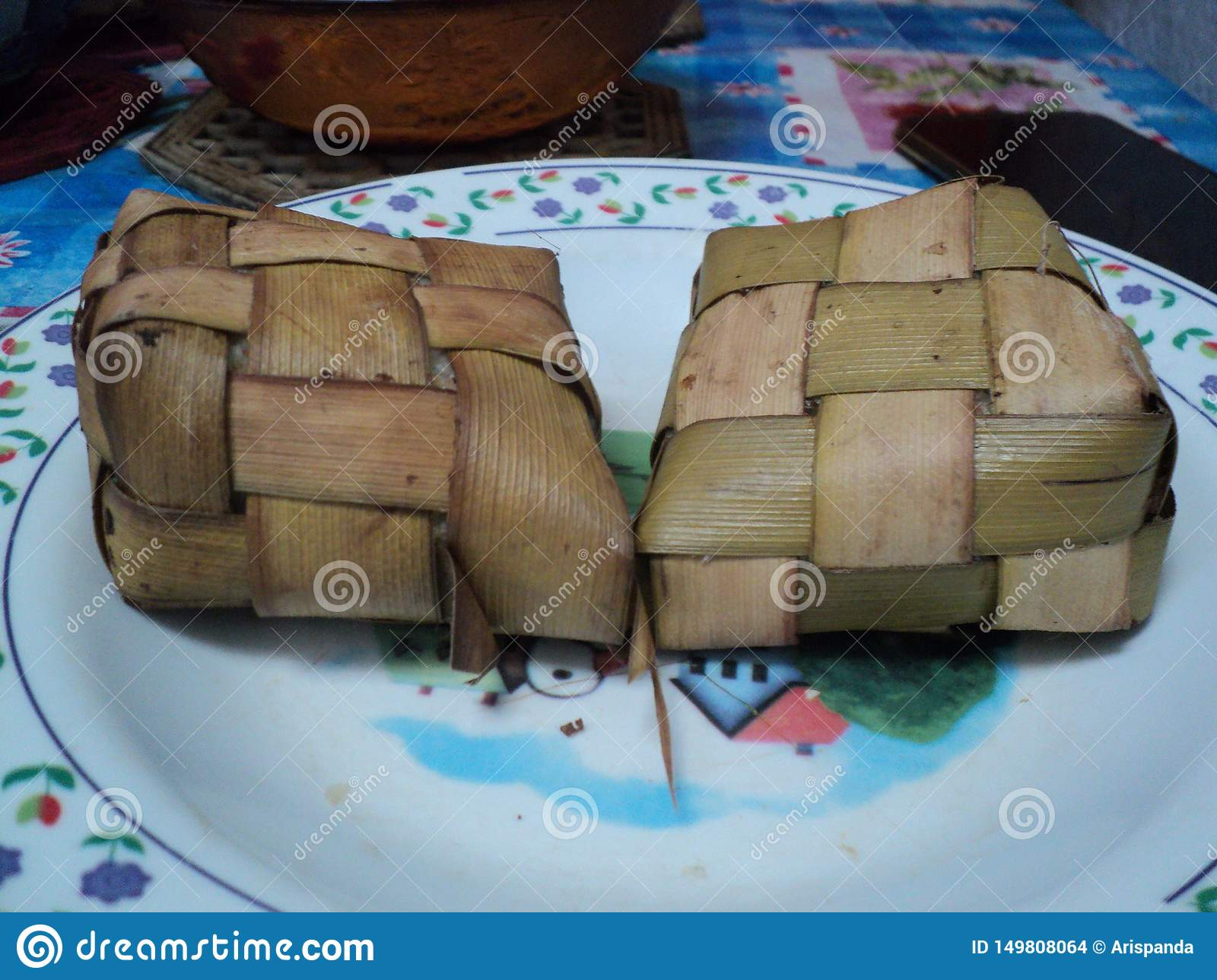 Ketupat typical food when Eid al-Fitr