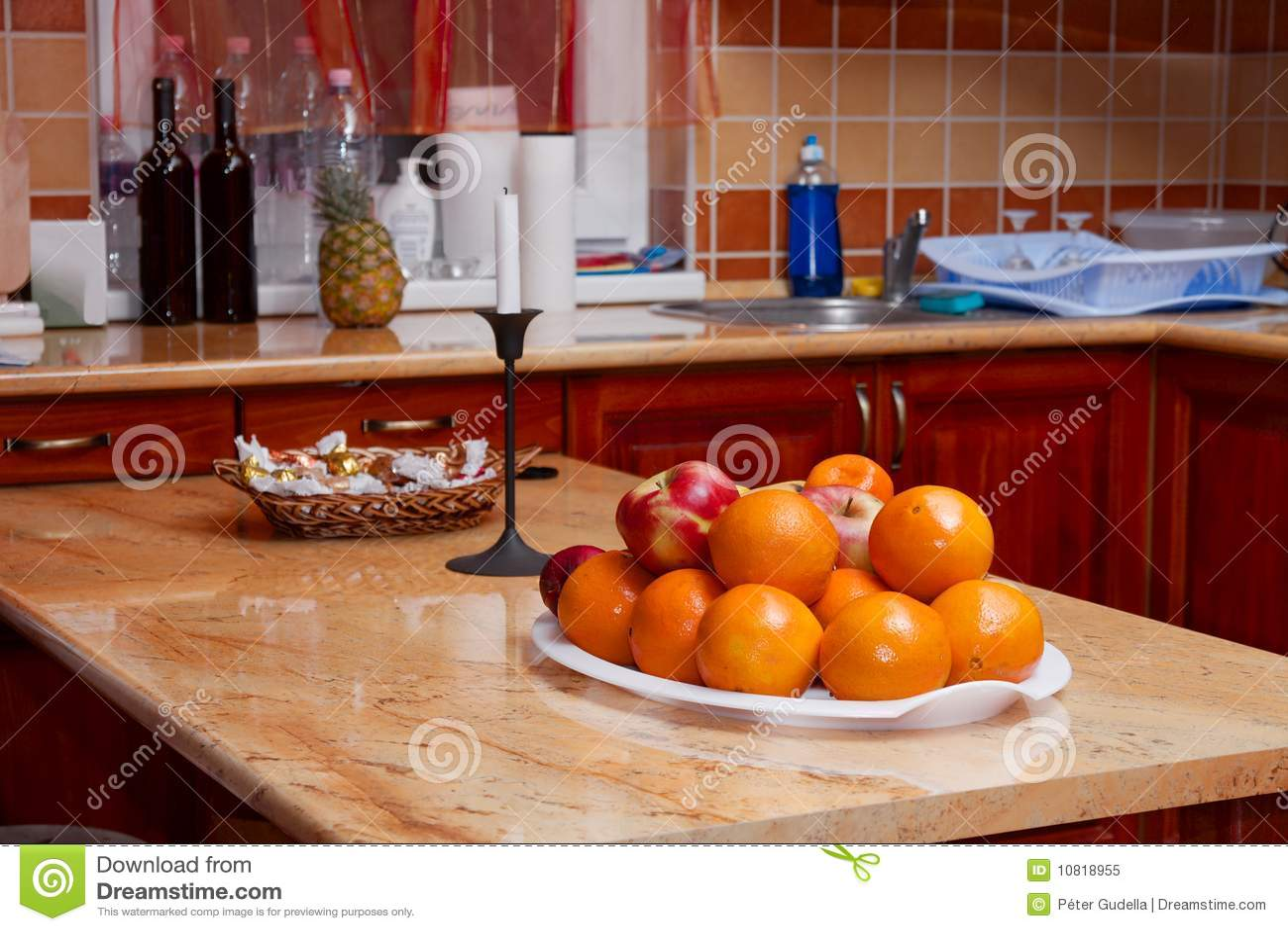 Keuken royalty vrije stock foto afbeelding 10818955 - Keuken uitgerust m ...
