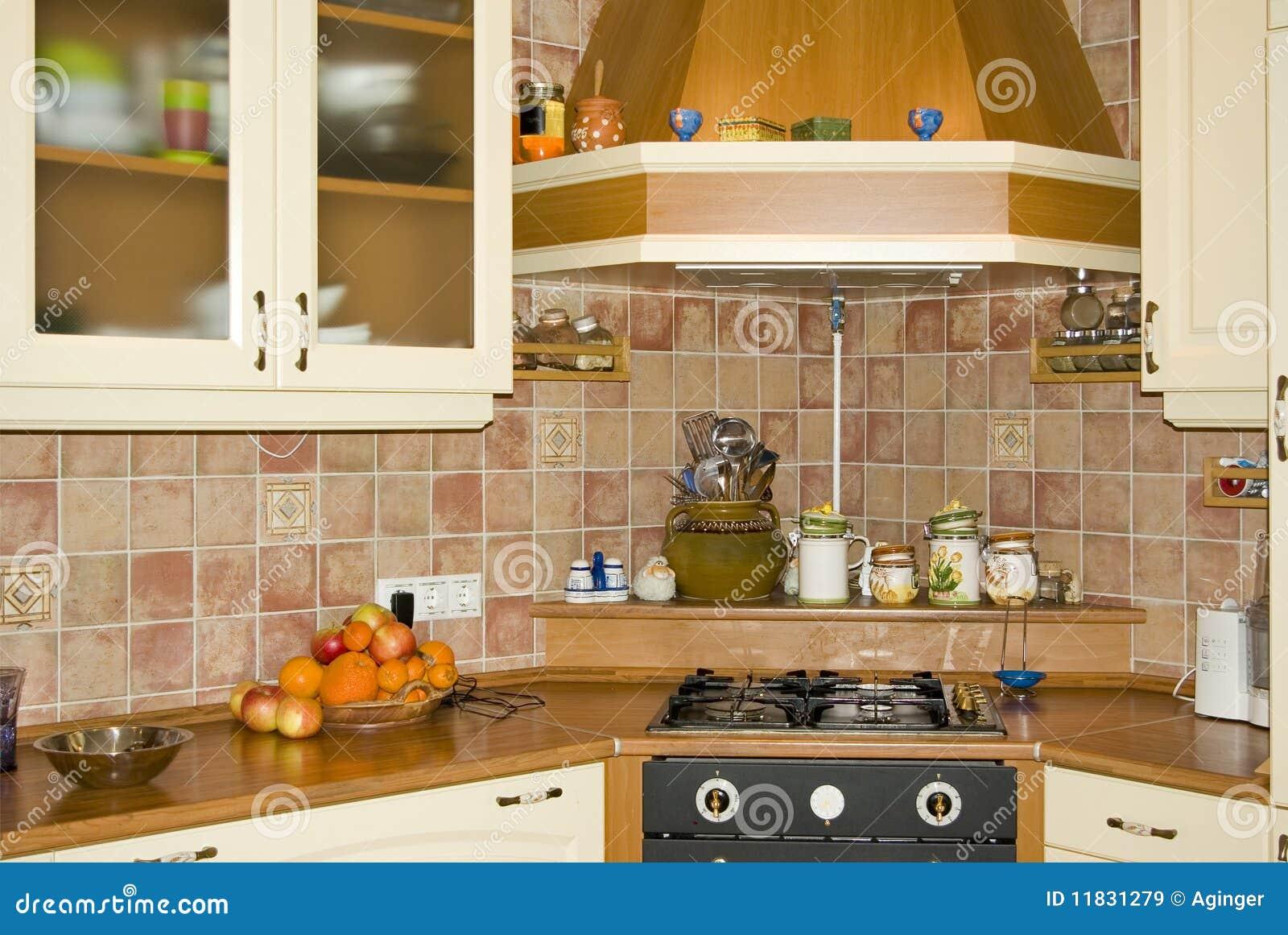 Retro keuken stock fotografie   afbeelding: 11641182