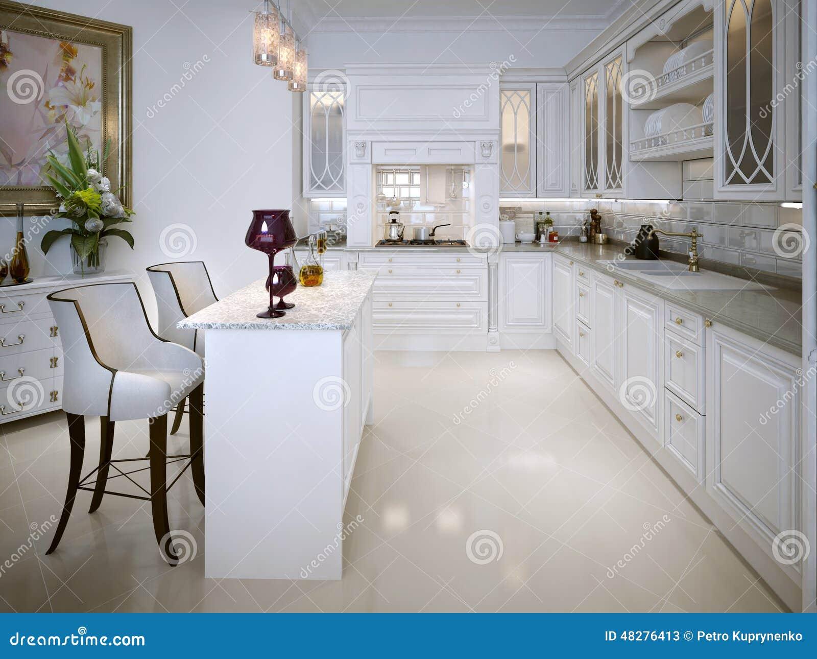 Keuken in klassieke stijl