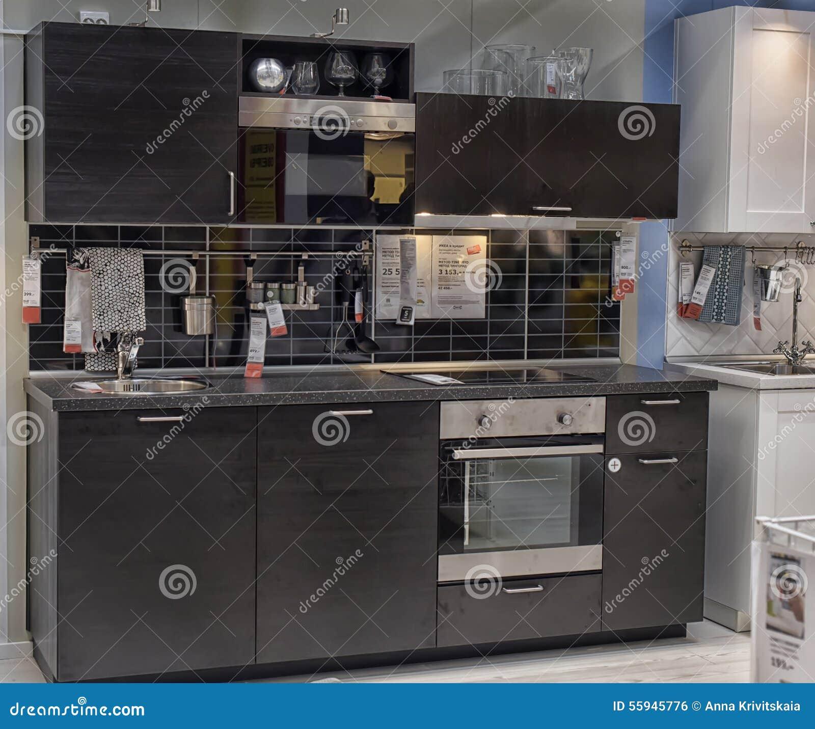 Kastenwand Woonkamer Ikea  Koak design massief eiken houten keuken met ikea keuken kasten  Ikea