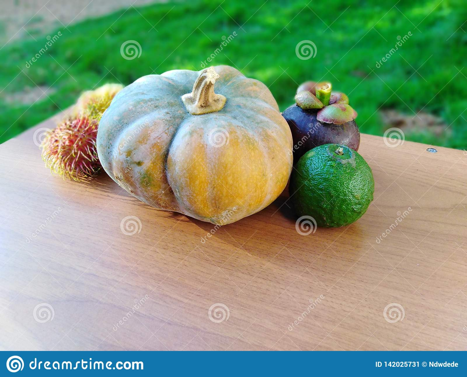 Keurig geschikte Vruchten en groenten op lijst