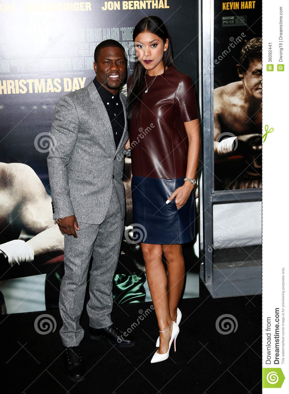 Kevin Hart Eniko Parris Editorial Photo Image 36092441