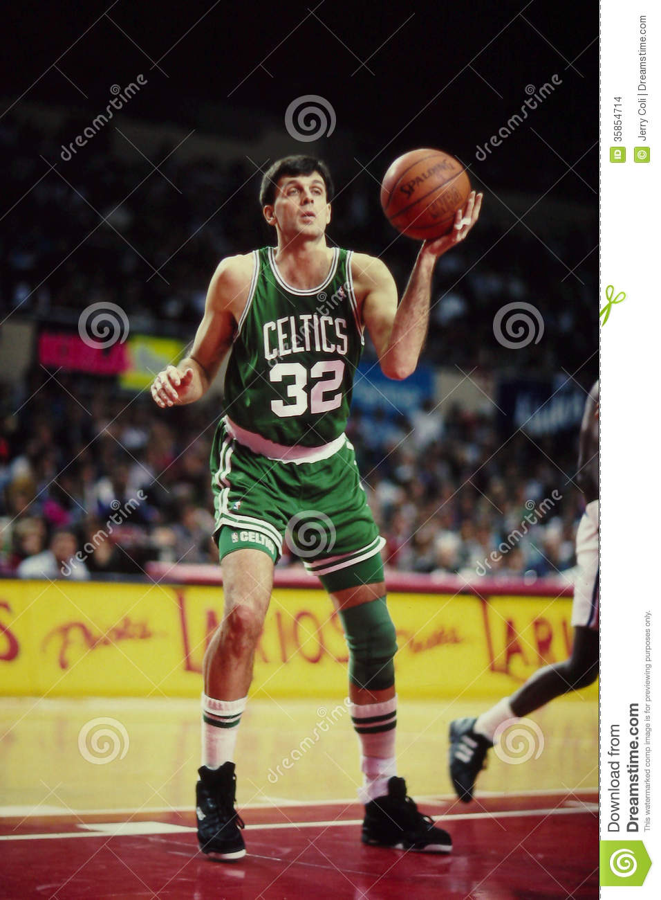 Kevin McHale Boston Celtics Editorial Stock Image Image