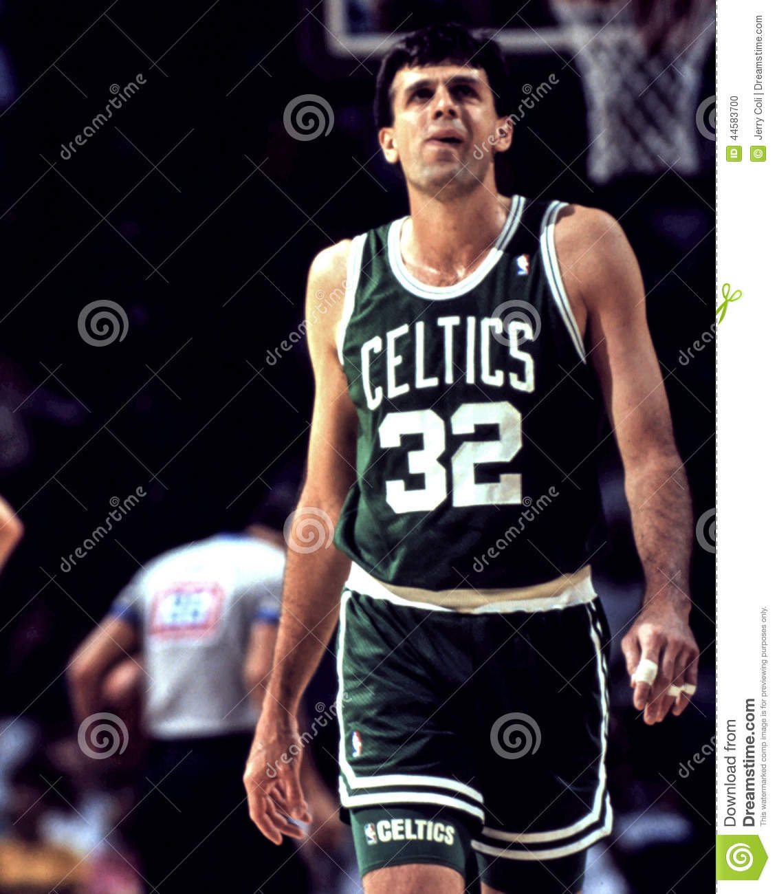 Kevin McHale Boston Celtics Editorial Image Image