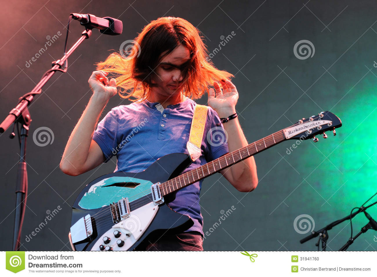 Kevin Parker, Vocalist And Guitarist Of Tame Impala ...