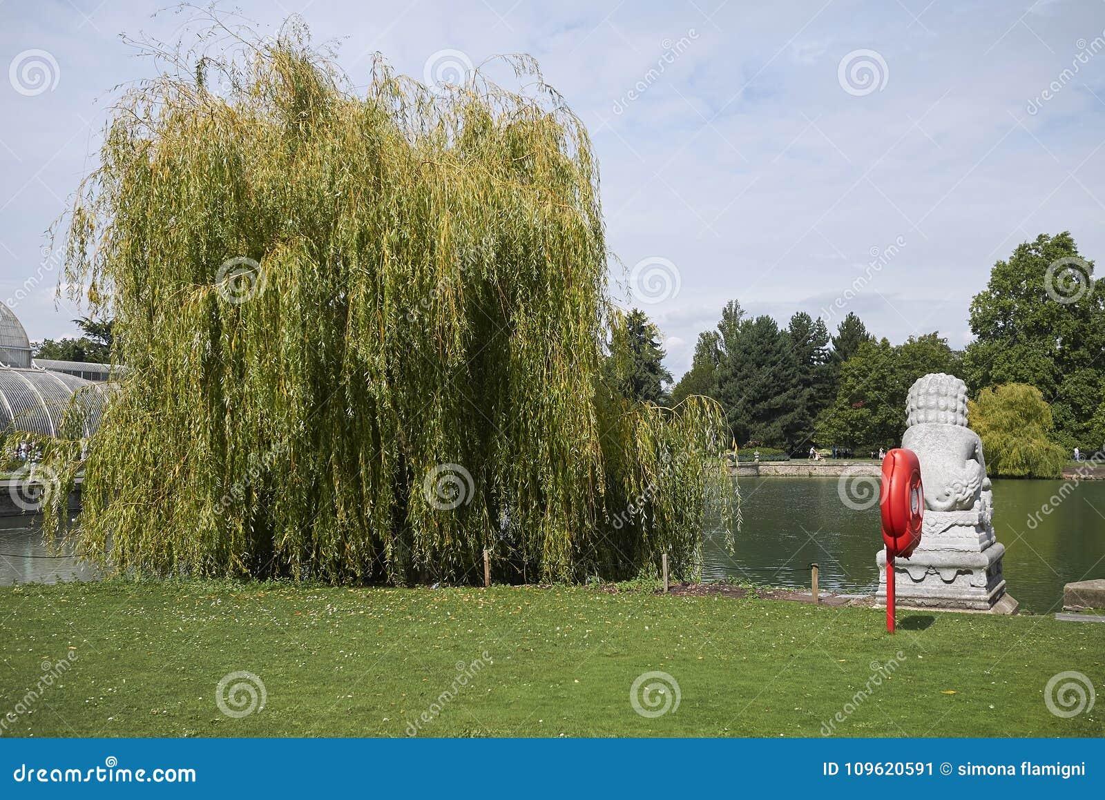 Kew庭院雕象