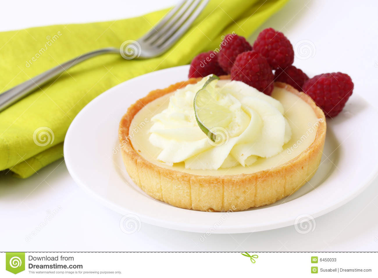 Key Lime Tart Stock Photos - Image: 6450033