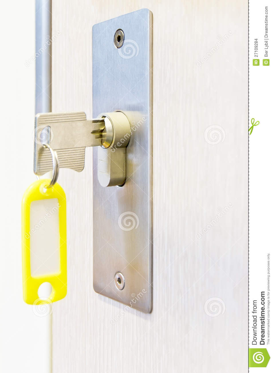 Key Locks Office Door Stock Images Image 27109284