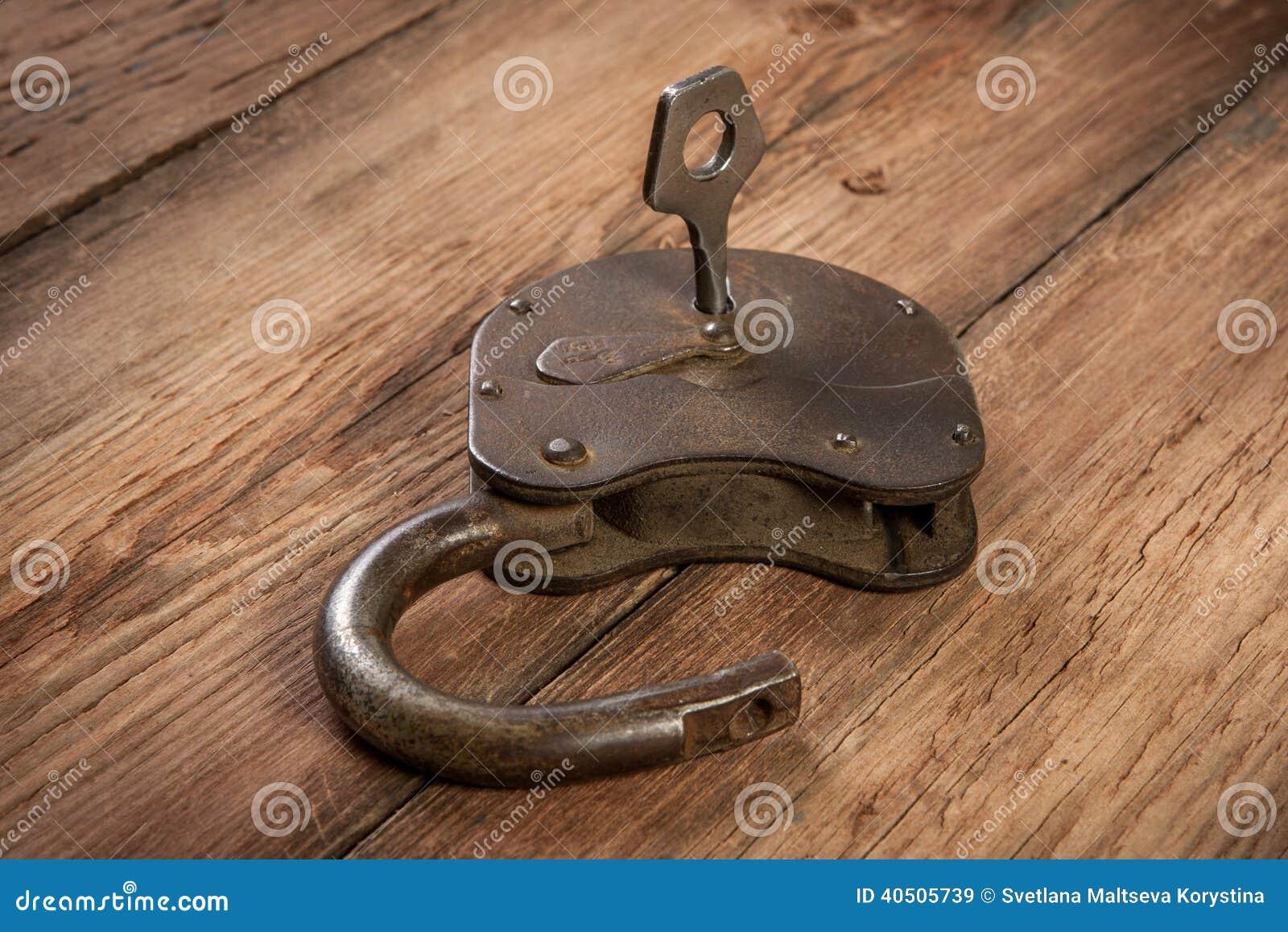 Key And Rusty Lock Stock Image Image Of Door Macro