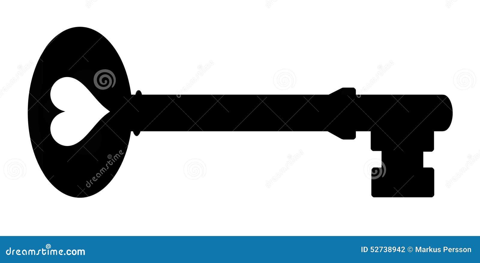 Key silhouette