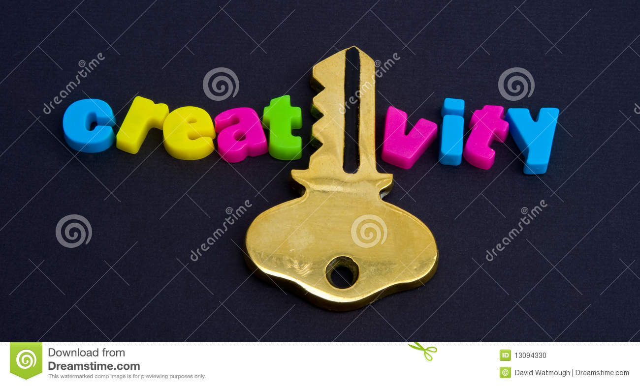 The key to creativity stock photo image 13094330 for The craft of research audiobook