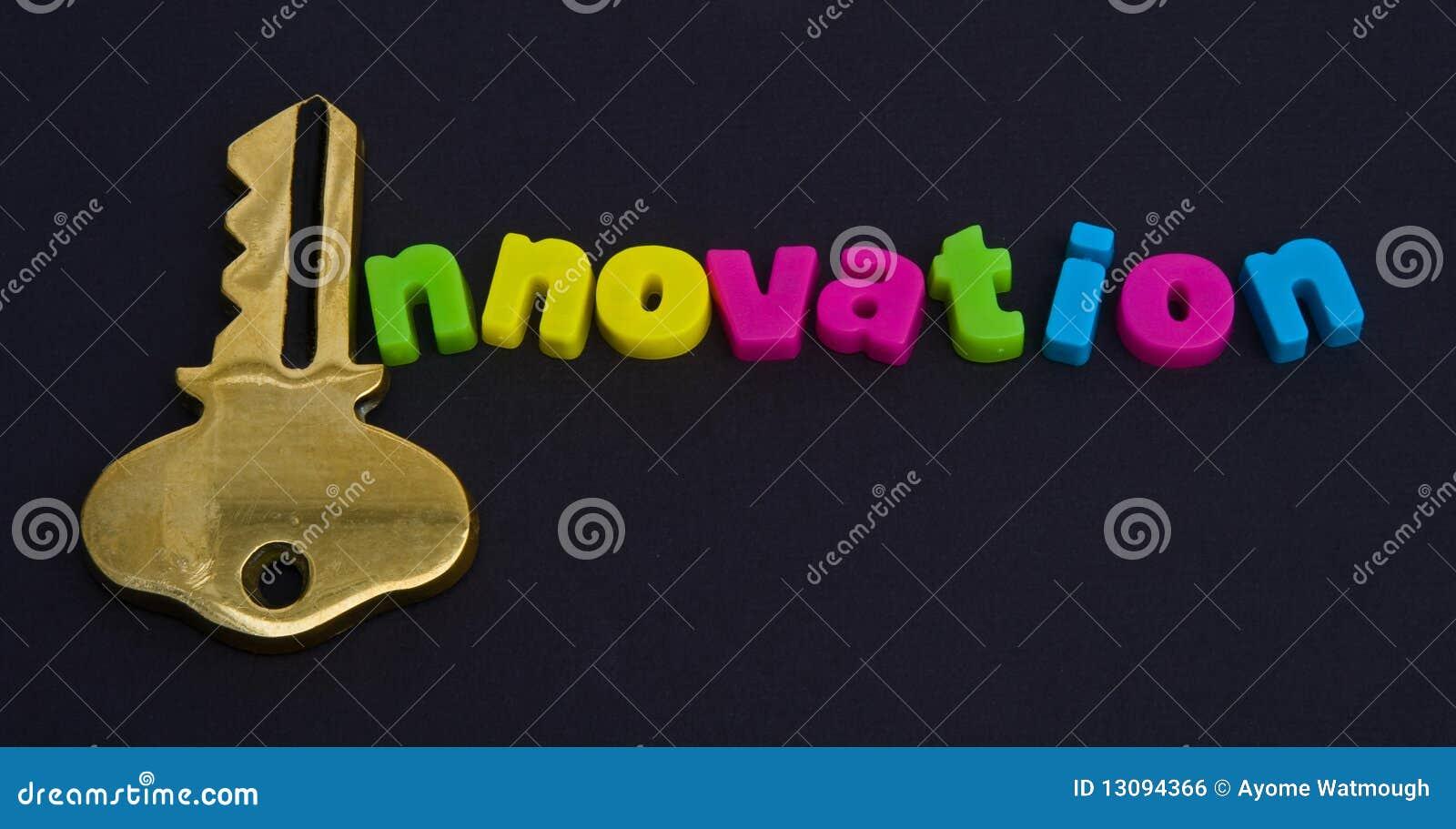Key To Innovation Logo Royalty Free Stock Image Image