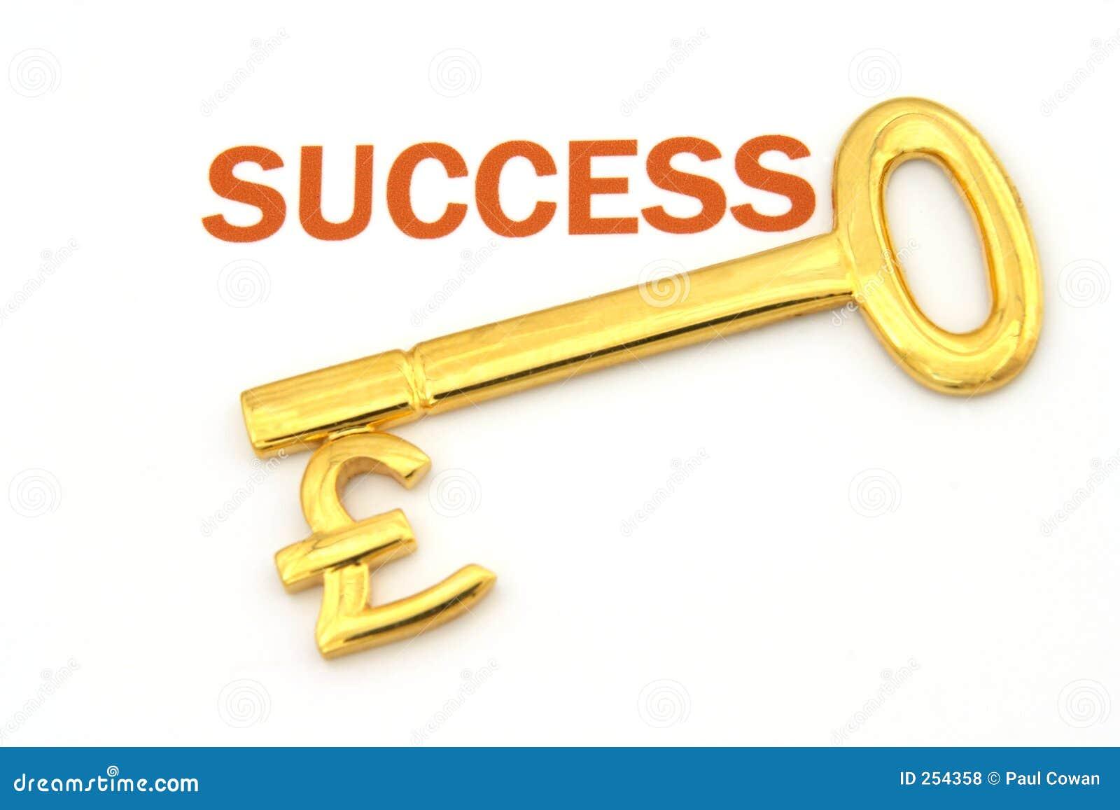 Key To Success Pounds Stock Photo Image Of Sign Money 254358