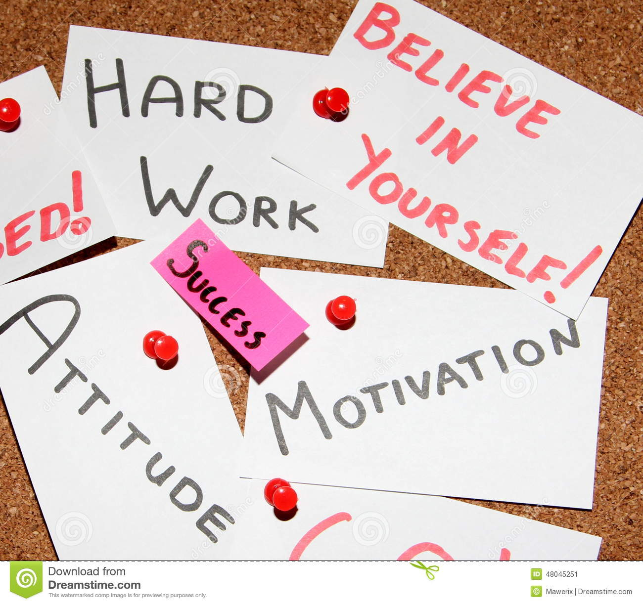 motivation slide bulb knowledge is power lord bacon quote key to success stock image
