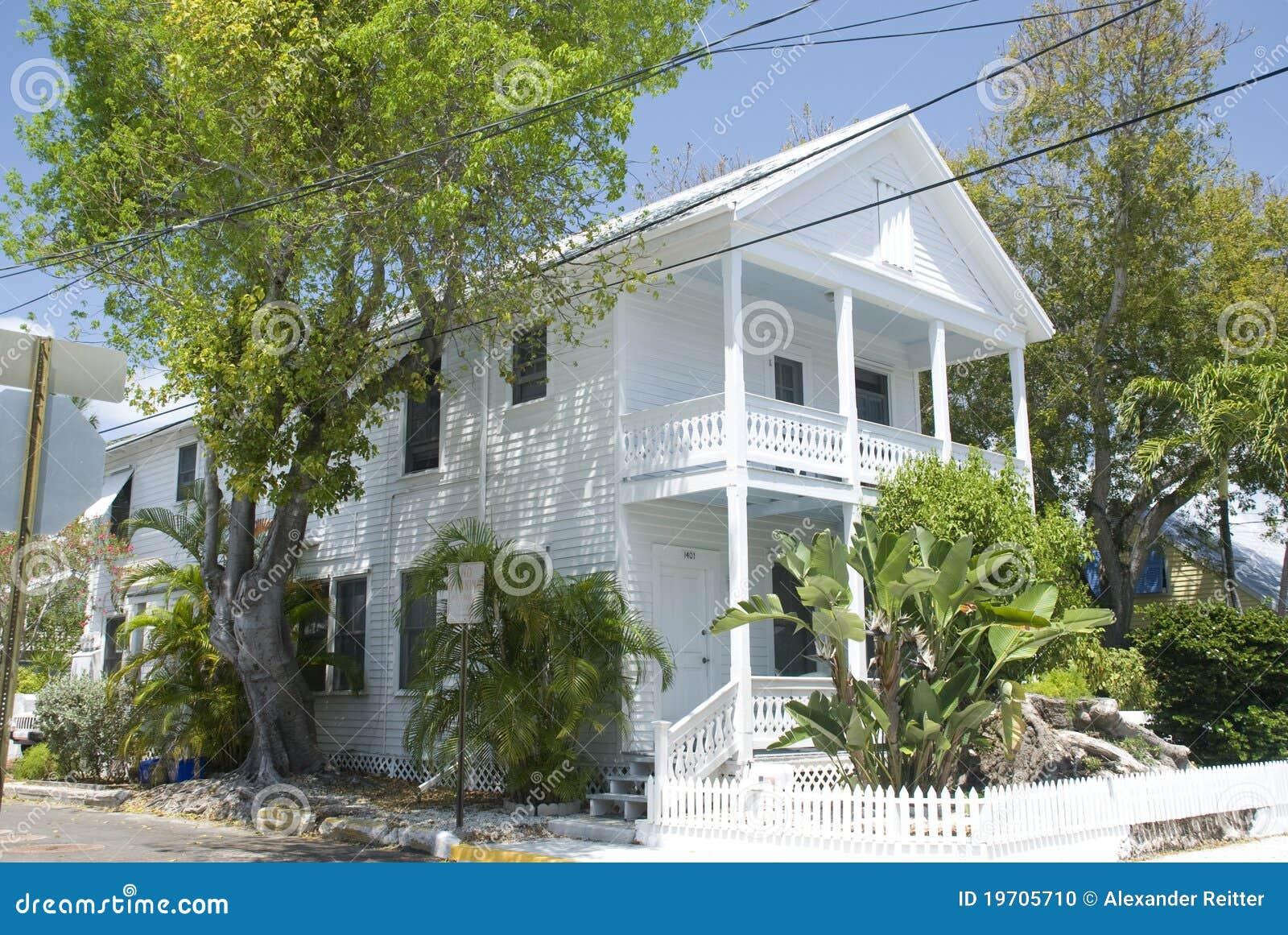 Key West House Stock Photo Image 19705710