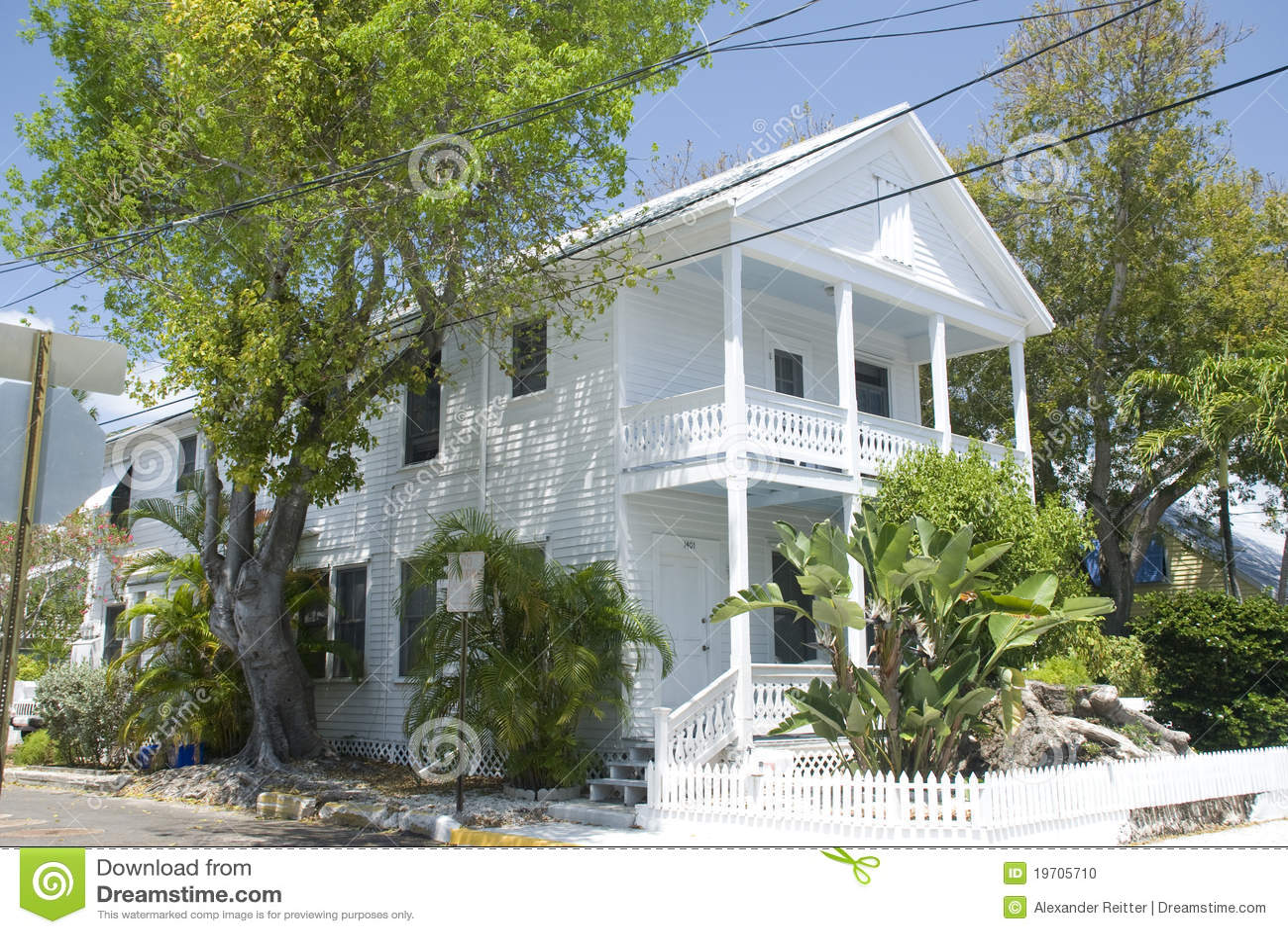 Key West House Stock Photo  Image: 19705710 - House Plans For Florida