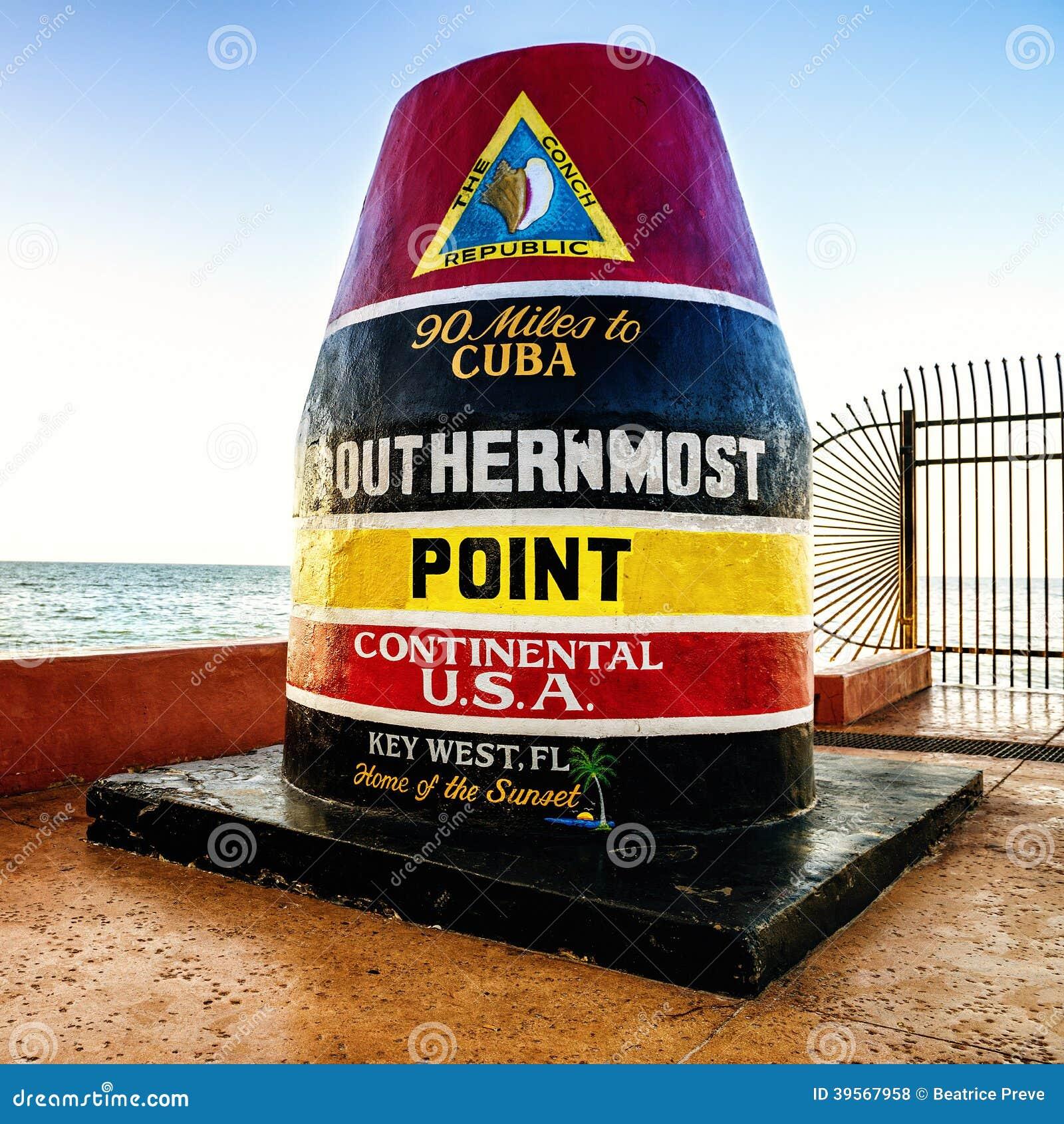 Key West milpunkt