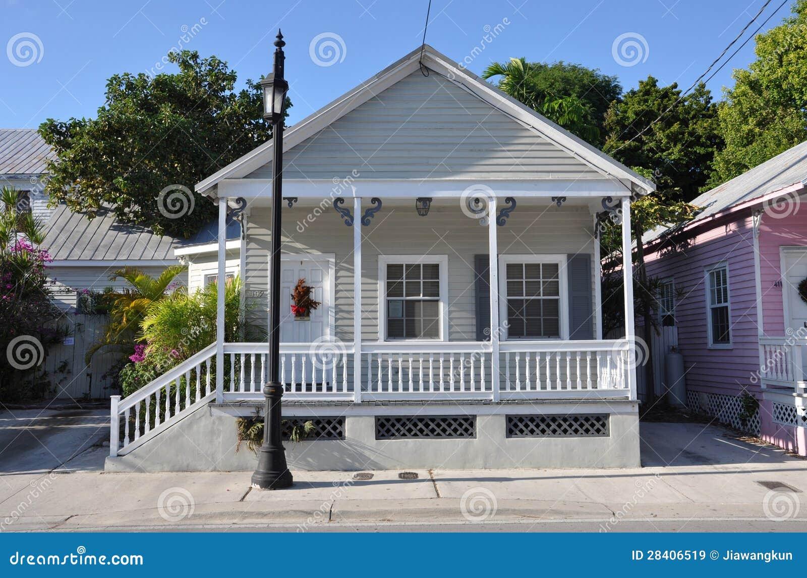 Key West Reden Haus An Stockbild Bild Von Bewohner Tourismus