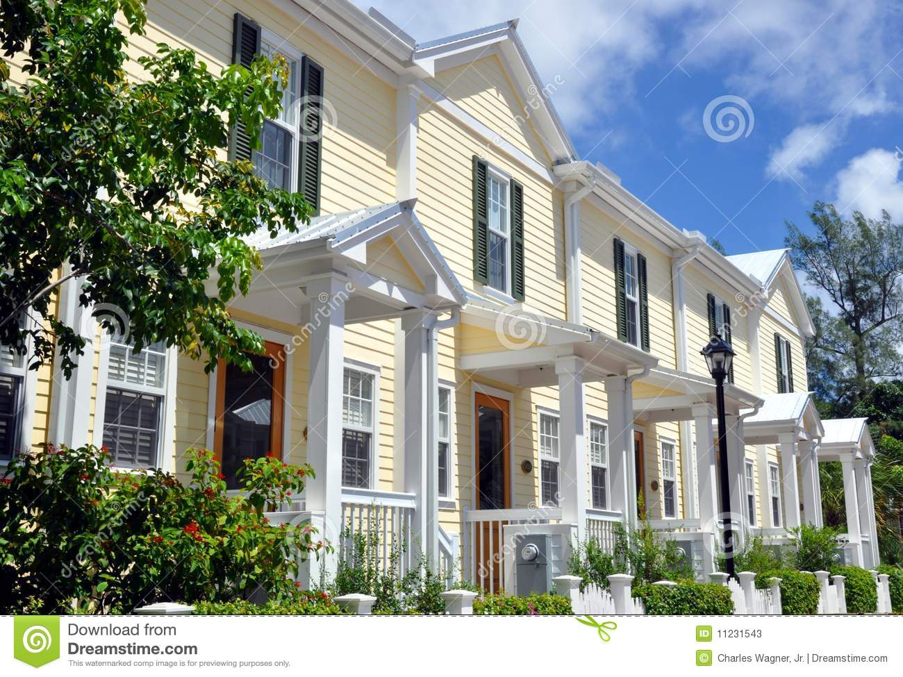 Key west style architecture stock photos image 11231543 for Key west architecture style