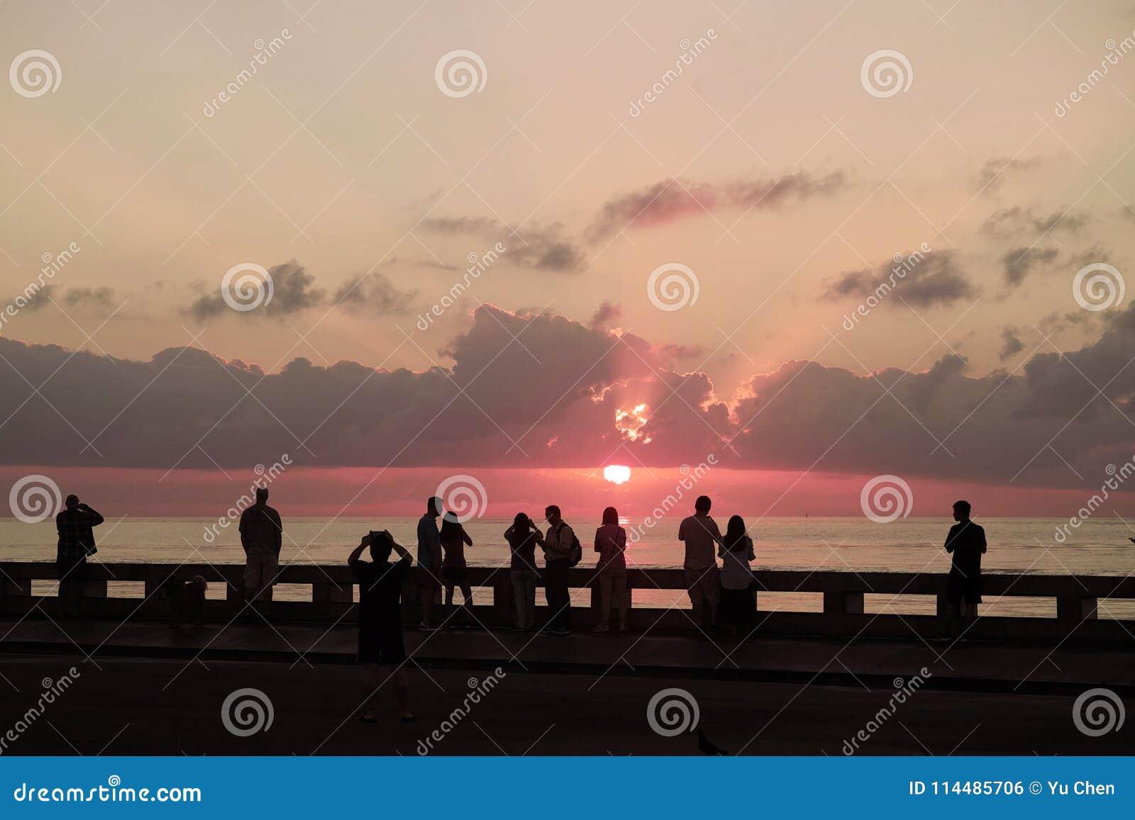 Key West Sunrise Florida Editorial Photo Image Of Rise 114485706