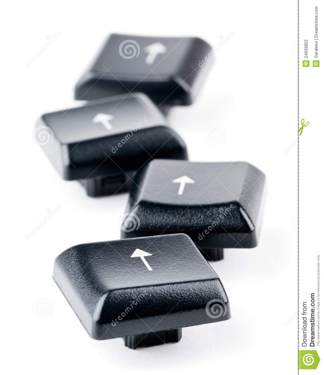 how to fix keyboard arrow keys