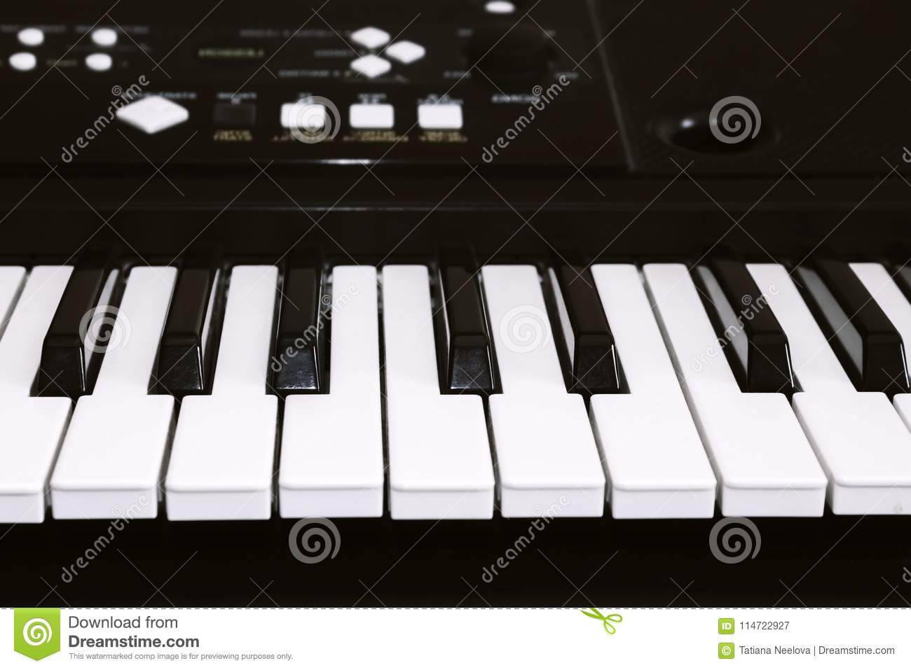 Keyboard Or Piano For Digital Music Recording, A Music Instrument