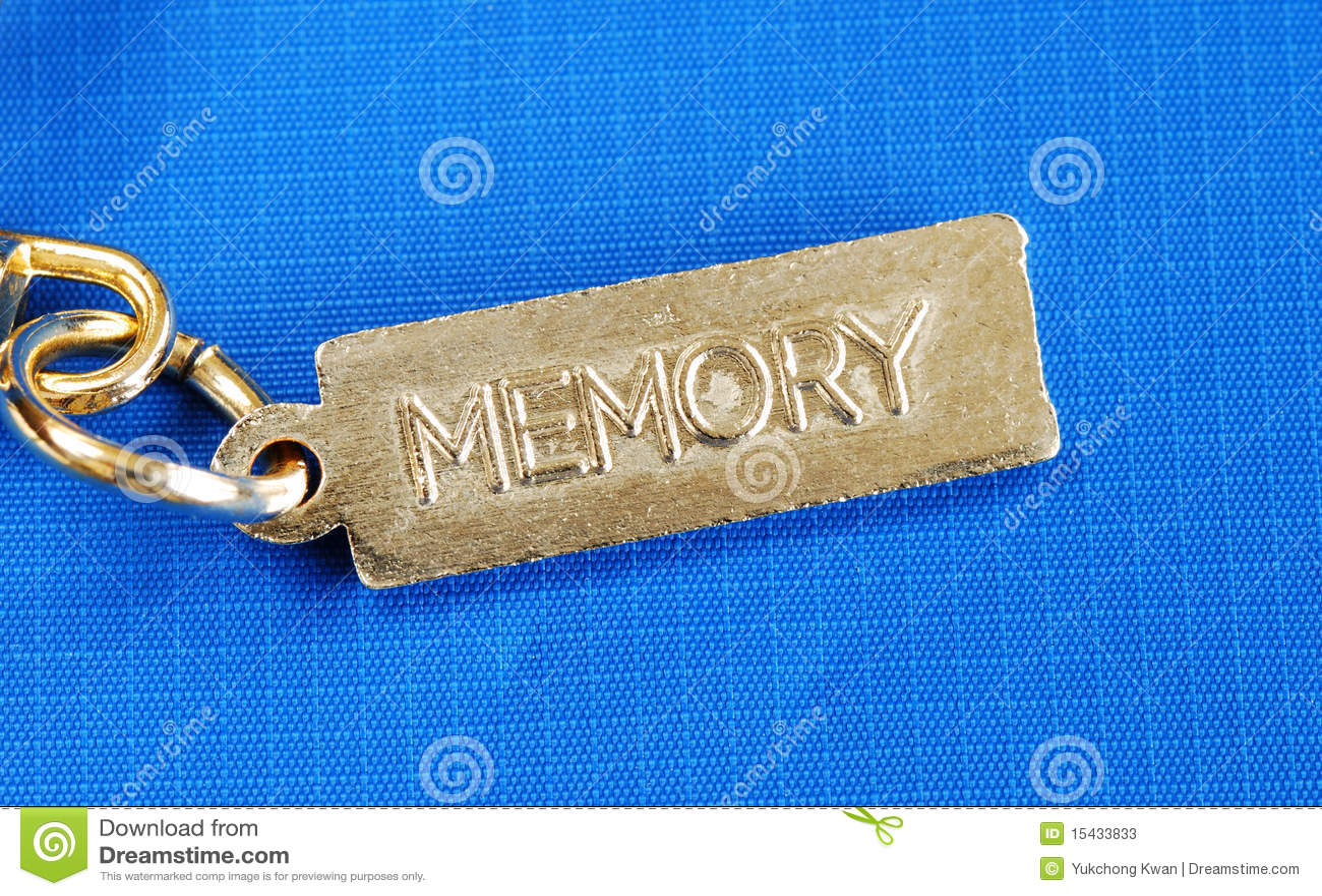 Keychain avec de la mémoire de mot