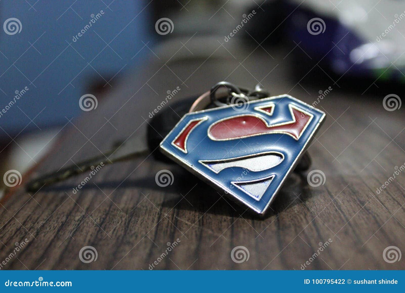 Superman Editorial Photography Image Of Yamaha Keychain 100795422