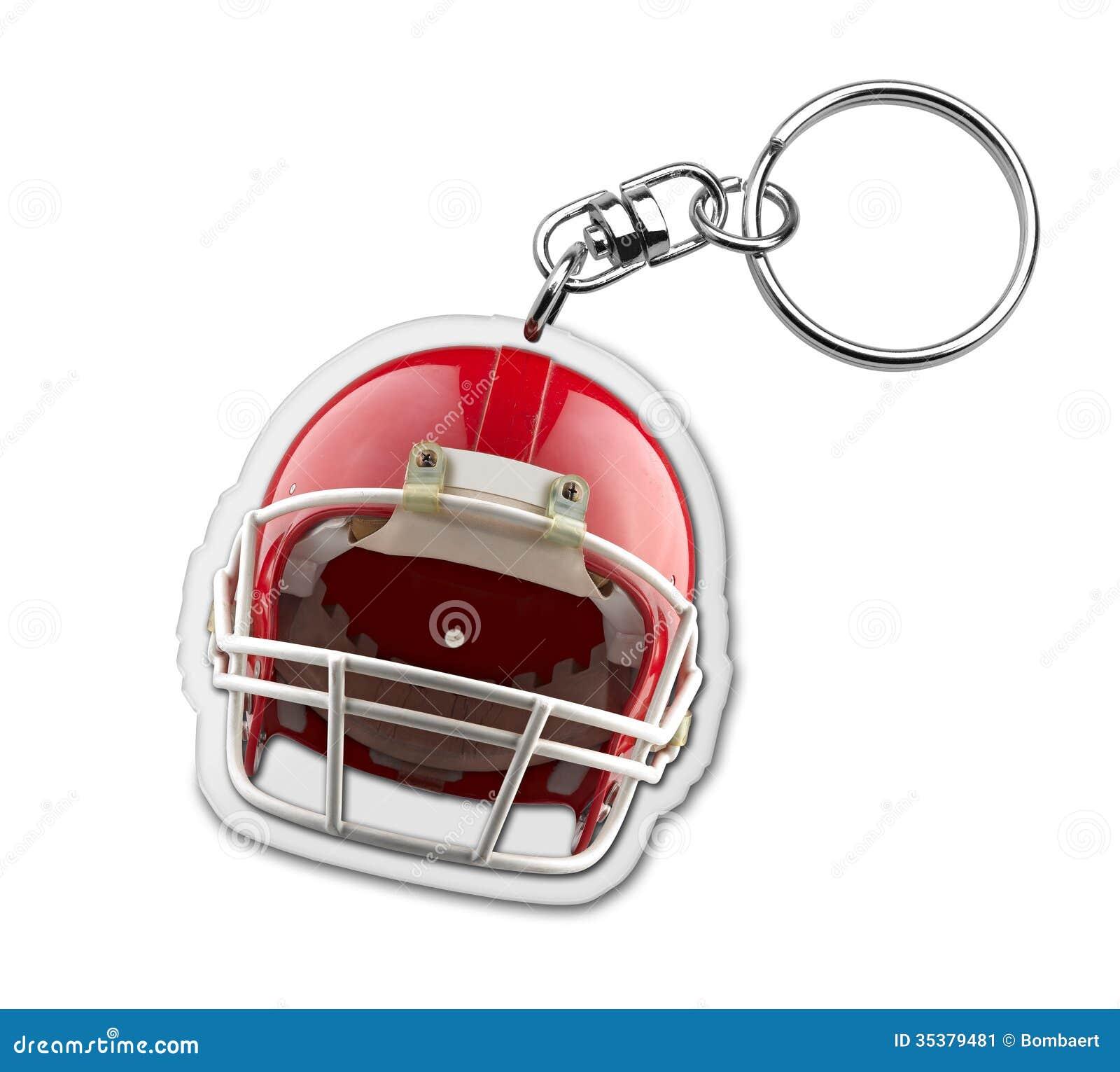 Keyholder подарка с символом шлема американского футбола