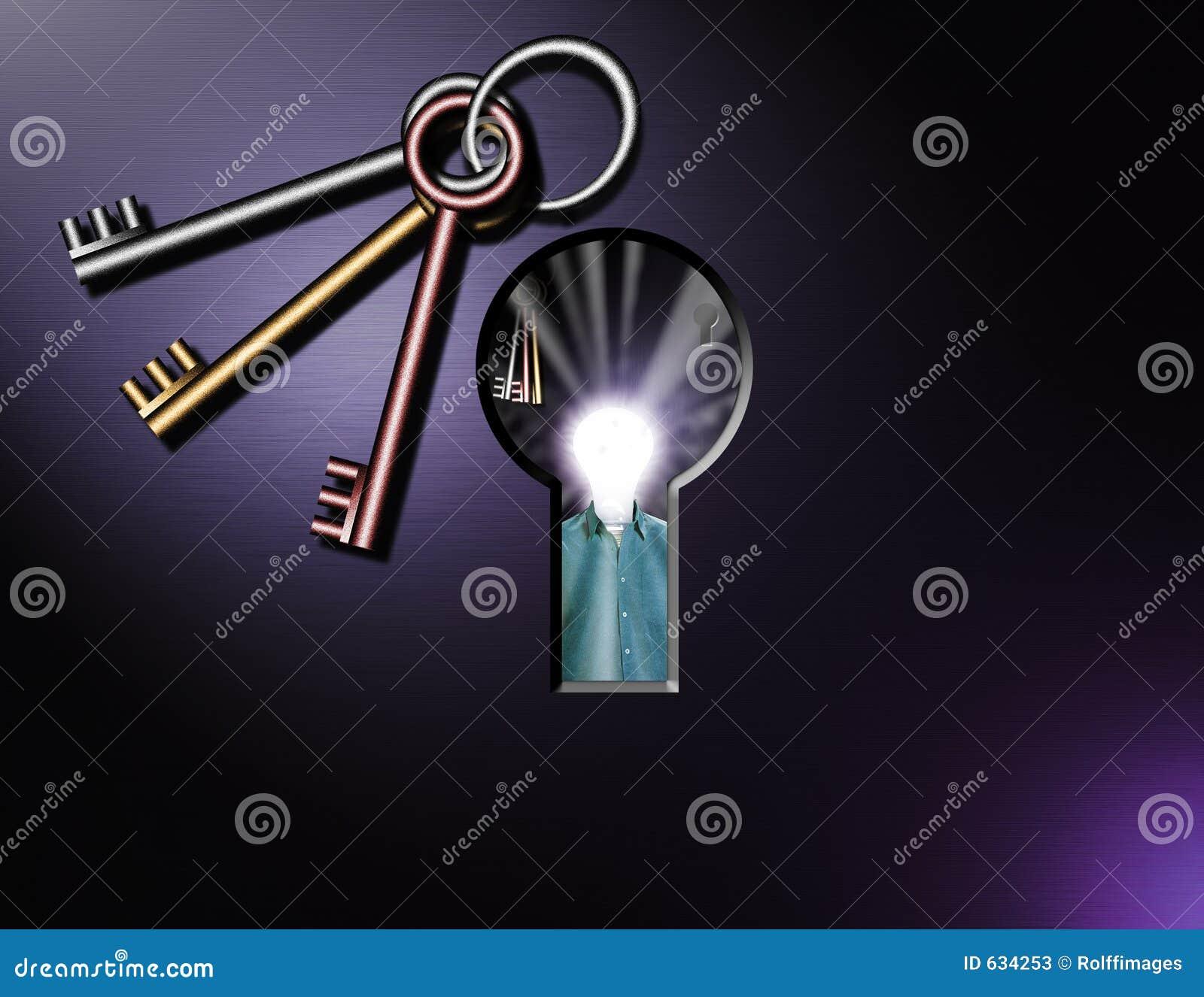 Download Keyhole сюрреалистический иллюстрация штока. иллюстрации насчитывающей сеть - 634253
