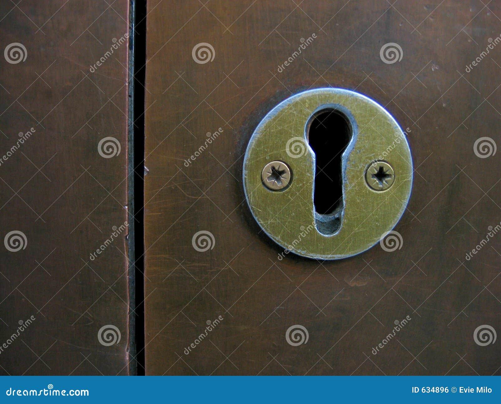 Download Keyhole стоковое фото. изображение насчитывающей ограниченно - 634896