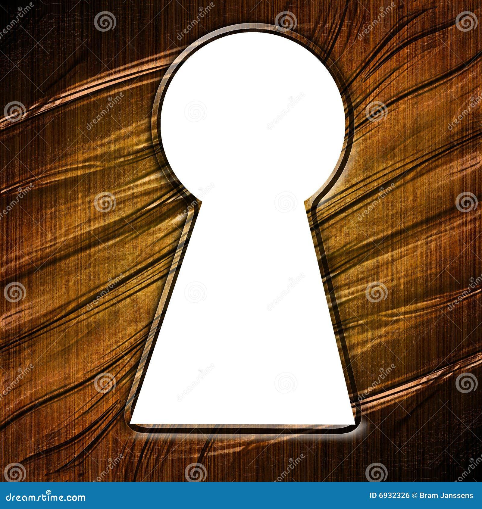 Keyhole Stock Illustration Illustration Of Close Lock