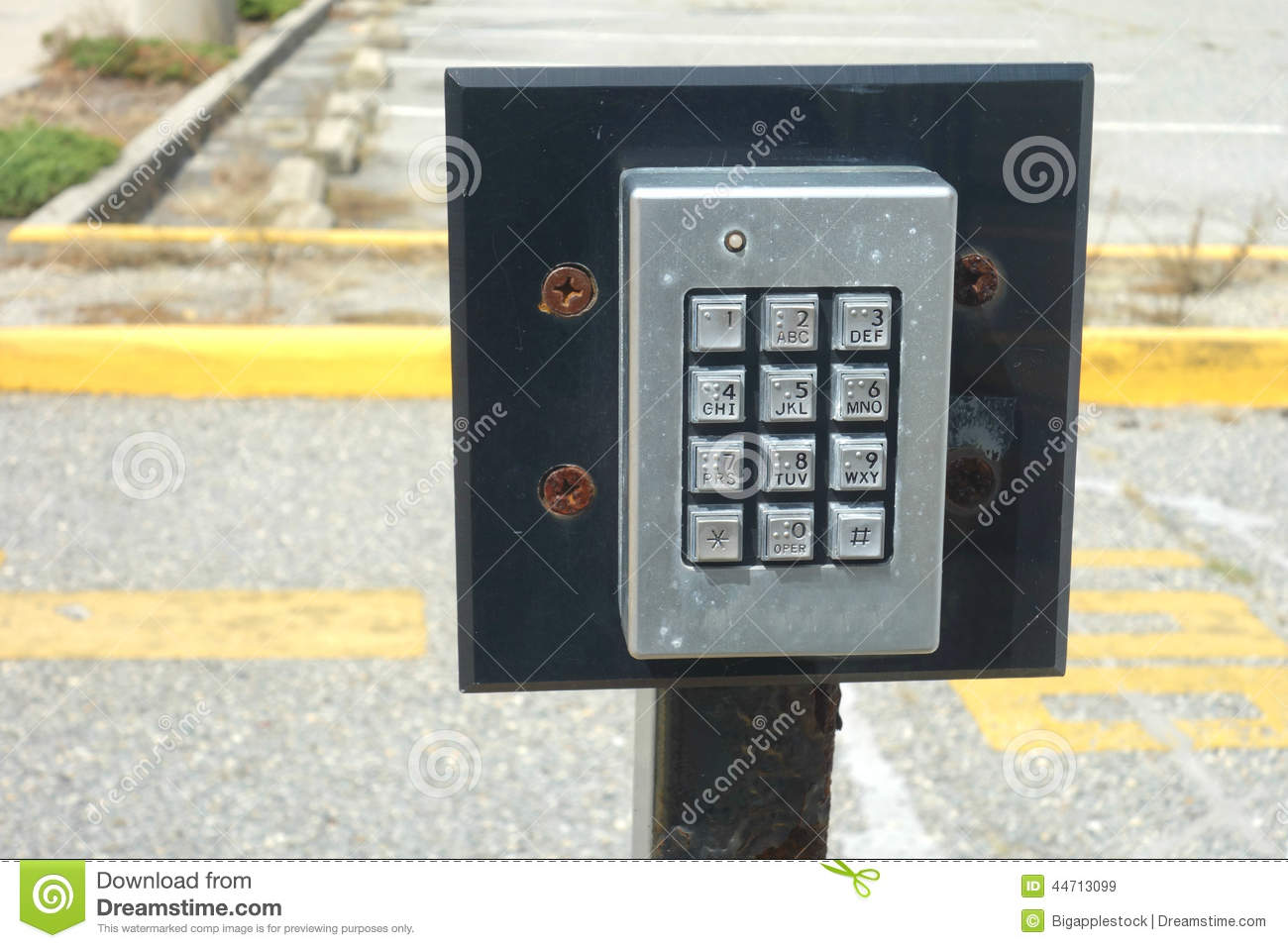 Keypad door entry system stock image image of system for Door entry systems