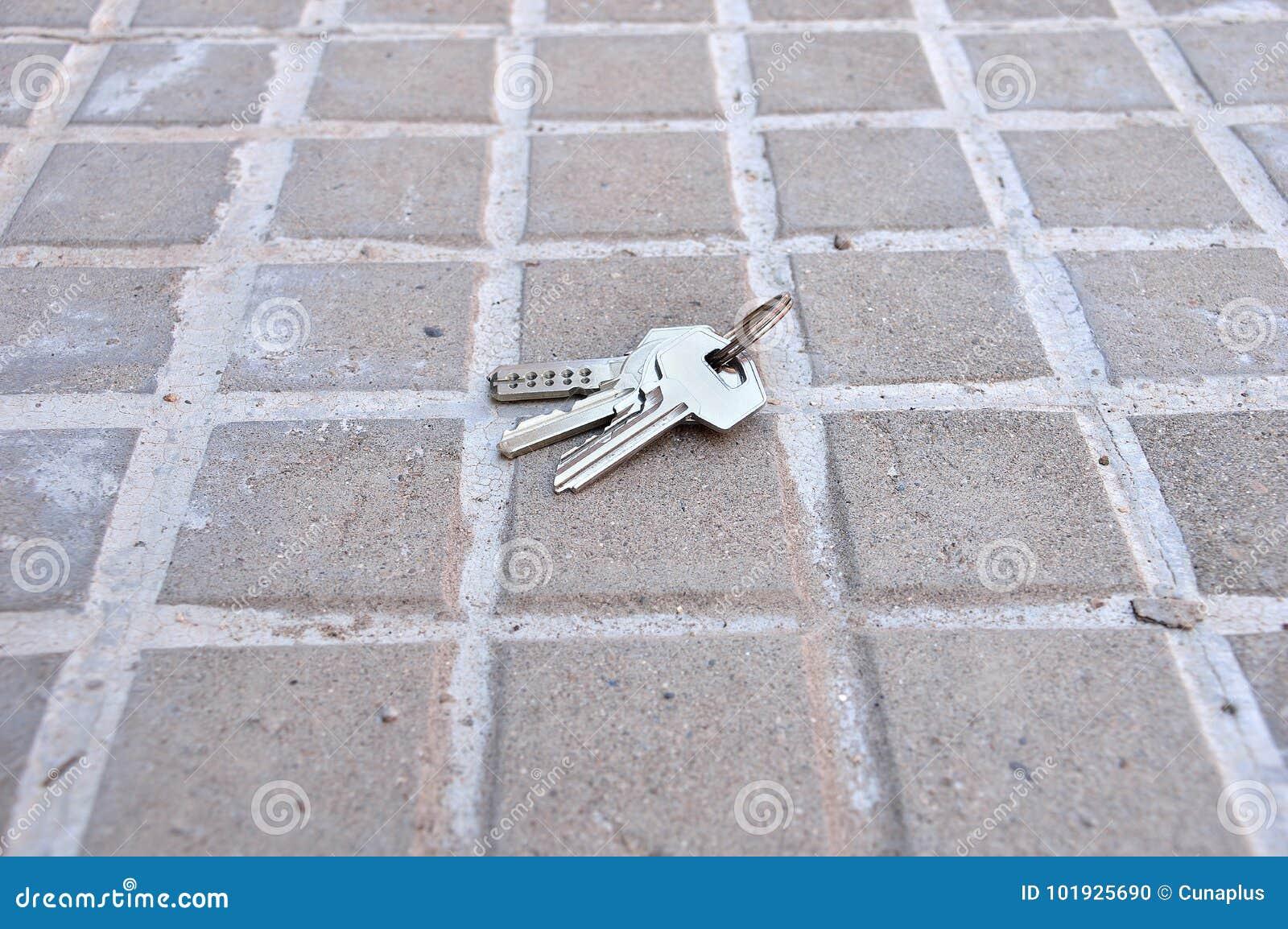 Lost keys of home