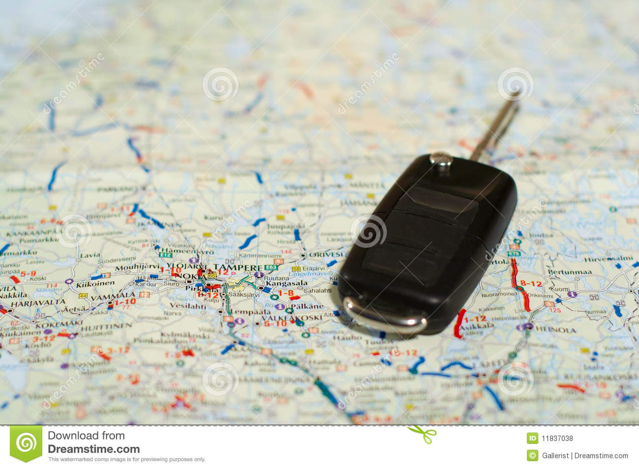 Keys And Map