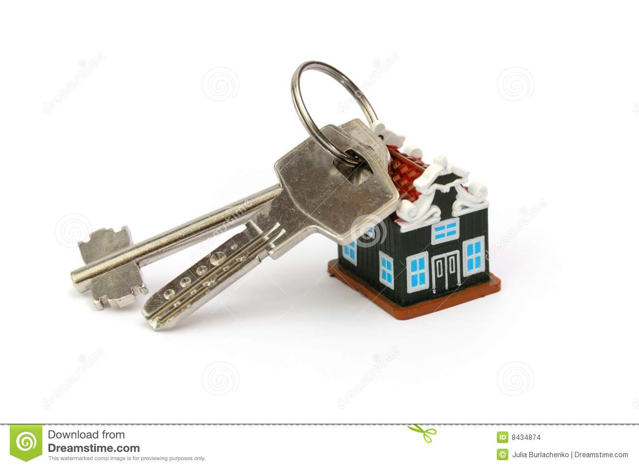 Keys from new house