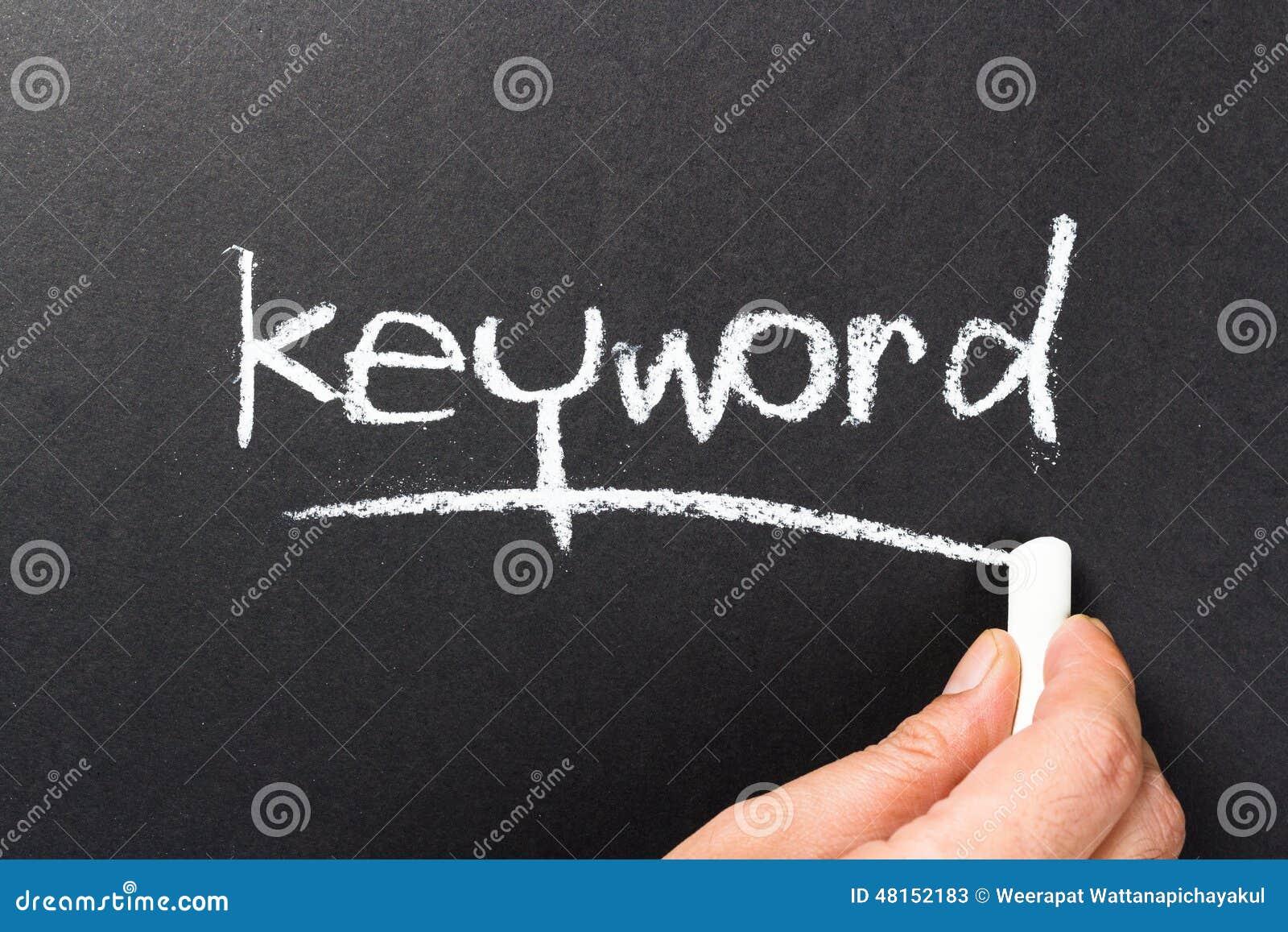 Keyword topic