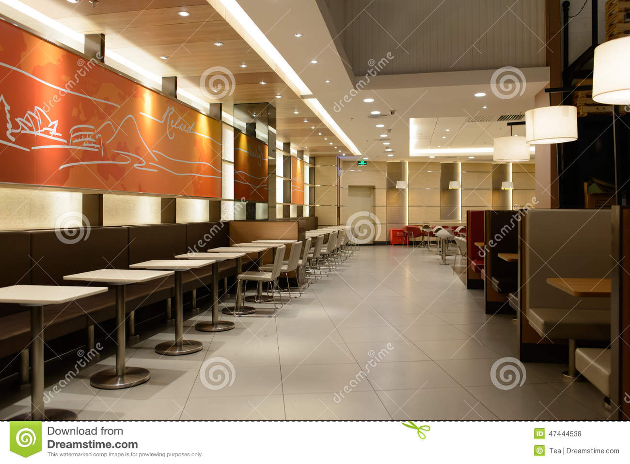 Kfc restaurant editorial stock photo image