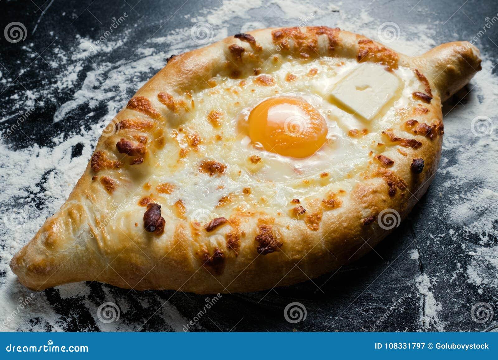 Khachapuri in the pan. Cheese Khachapuri: A Step-by-Step Recipe 77