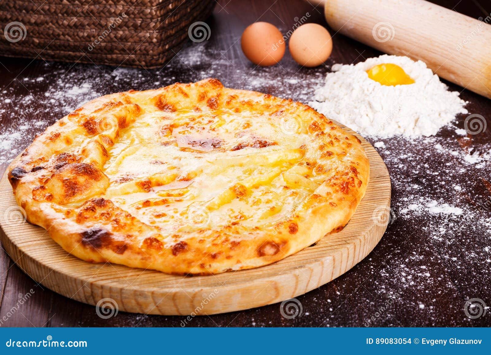 Khachapuri Cocina georgiana Alimento georgiano