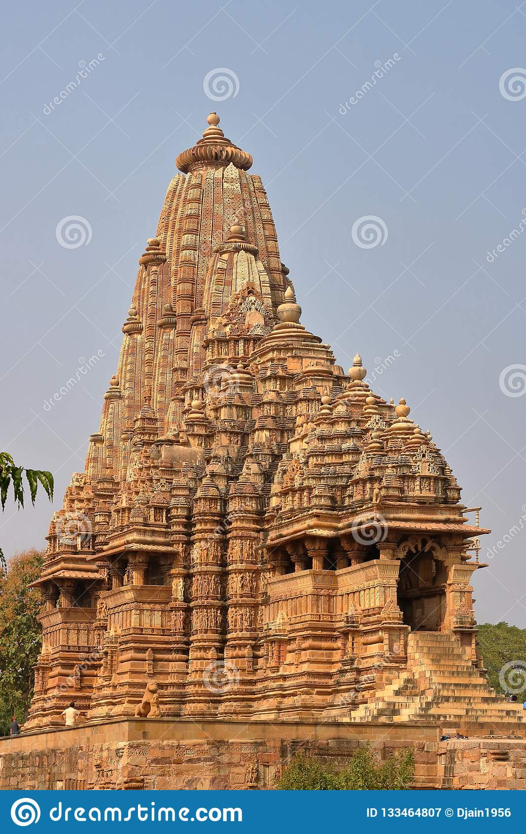 The khajurahos temple is famous for its artwork and historical sculptures.  the khajurahos temple is not only famous for erotic artworks, but it  represents ...