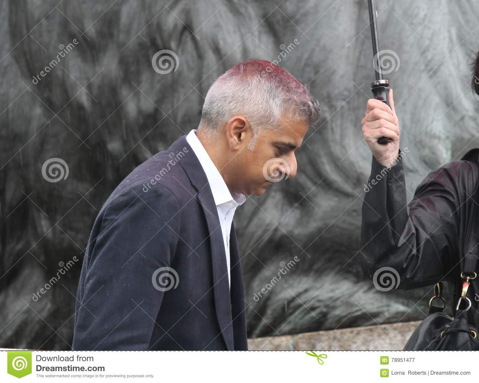 Khan Sadiq, Londen, het UK 16 Oktober, 2016 De Burgemeester van het Festival van Londen van de uitvoerders en de scènes van Dewal